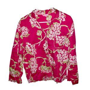 Lilly Pulitzer - Size Large Button Up Sleep Shirt